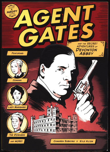 Agent Gates and the Secret Adventures of Devonton Abbey: A Parody of Downton Abbey,Secret Service Agent,Comics Collection