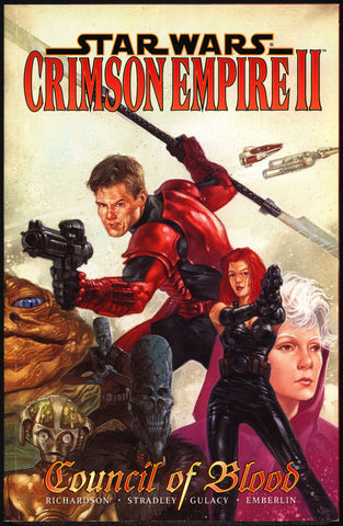 "STAR WARS ""Crimson Empire II"" Vol 2 Council of Blood #1-6 Paul Gulacy, Mike Richardson,Kir Kanos,Return of the Jedi,Graphic Novel,"