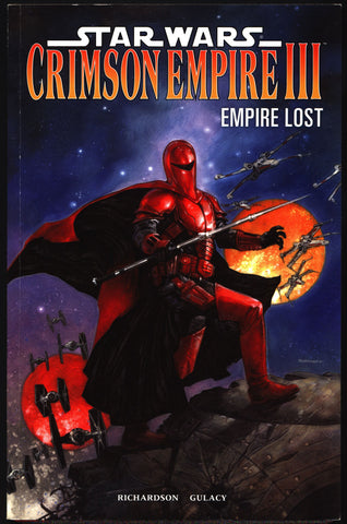 "STAR WARS ""Crimson Empire"" Vol 3, Empire Lost, Paul Gulacy, Mike Richardson, Kir Kanos,Return of the Jedi,Darth Vader,Graphic Novel,"