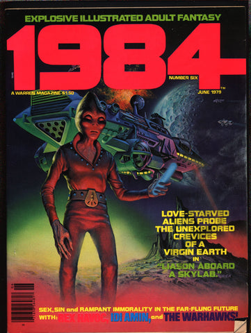 1984 #6 Warren Magazine Alex Niño,Jose Ortiz,Richard Corben,Nebres,Frank Thorne,Ghita