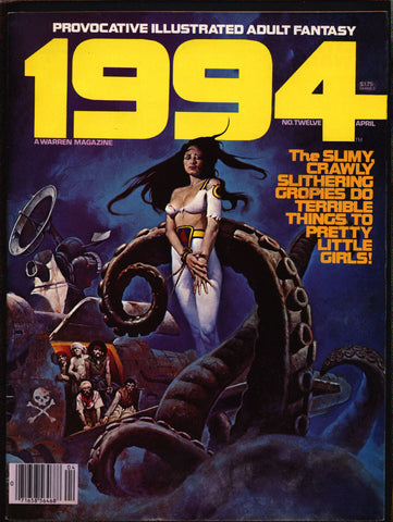 "1994 #12 Warren Magazine Gonzalez,Laxamana,Rudy Nebres,Alex Niño,Frank Thorne,Ghita,Provocative ""illustrated adult fantasy""erotic,sex,BDSM"