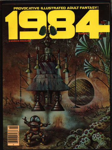 1984 #9 Warren Magazine Herb Arnold, José Gonzalez,Laxamana,Alex Niño,Frank Springer,Provocative illustrated adult fantasy