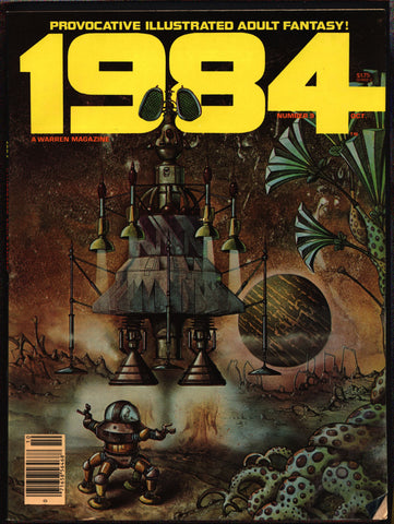 1984 #9b Warren Magazine Herb Arnold, José Gonzalez,Laxamana,Alex Niño,Frank Springer,Provocative illustrated adult fantasy