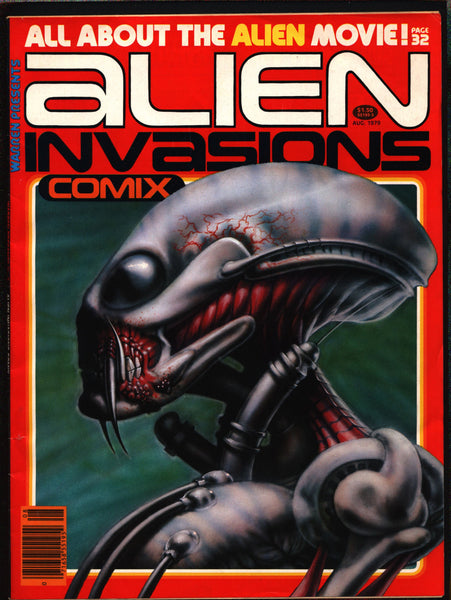 Warren Presents #7 Alien Invasion Comix Magazine, Wally Wood, John Severin, Alex Toth, Alex Niño, Carmine Infantino,Dan Adkins,Tom Sutton