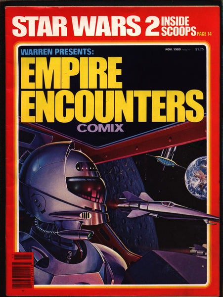 Warren Presents Empire Encounters Comix Magazine, Stars Wars,SF Movie,Fantasy,Pepé Moreno, Isidro Mones, Luis Bermejo