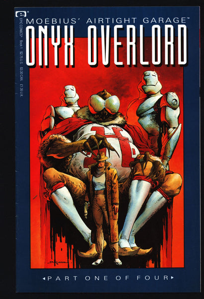 Onyx Overlord #1, Moebius' Airtight Garage, R.J.M. Lofficier,Jerry Bingham,Marvel Comics,epic illustrated,