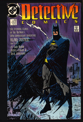 50th Anniversary Tribute, BATMAN Detective Comics 600 Adam West,Bernie Wrightson,Neal Adams,Walt Simonson,Will Eisner,Dark Knight,Comic Book