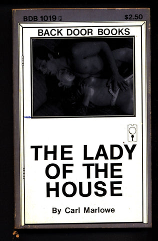 The Lady Of The House BDB-1019, ADULT,Mature,Vintage,Explicit,Erotic,Fiction,Sleaze, Paperback book