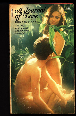 A Journal of Love , ADULT,Mature,Vintage,Fiction,Sleaze, Paperback book
