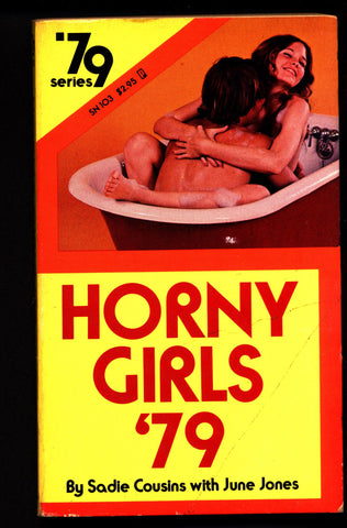 Horny Girls '79 SN 103, ADULT,Mature,Vintage,Paperback book