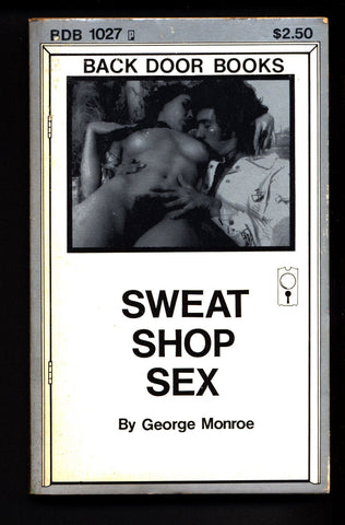 Sweat Shop Sex BDB-1027, ADULT,Mature,Vintage,Explicit,Erotic,Fiction,Sleaze, Paperback book
