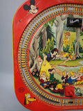 Gorgeous Vivid 1958 DISNEYLAND Express Train Tin Litho- All Metal LAYOUT Only by MARX Walt Disney Productions Mickey Mouse Club