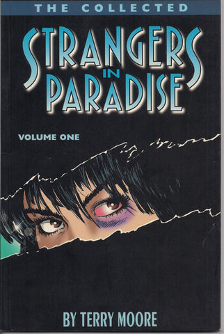 Collected STRANGERS in PARADISE, Vol 1, Terry Moore, GN,Trade paperback,Comic Book,Reprint Collection,First Edition.
