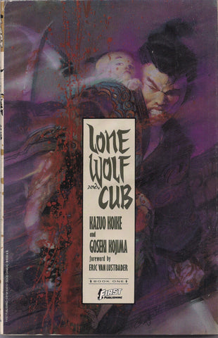 LONE WOLF and Cub,Book One,Kazuo Koike, Goseki Kojima, First Comics Edition,Comic Book, Reprint Collection,GN,Trade paperback,