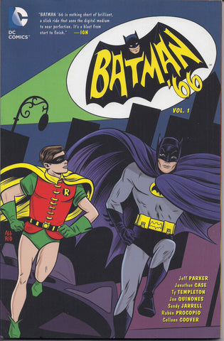 BATMAN '66, Vol 1,Adam West TV Television series,Catwoman,Joker,DC Comics,Trade Paperback Graphic Novel Collection