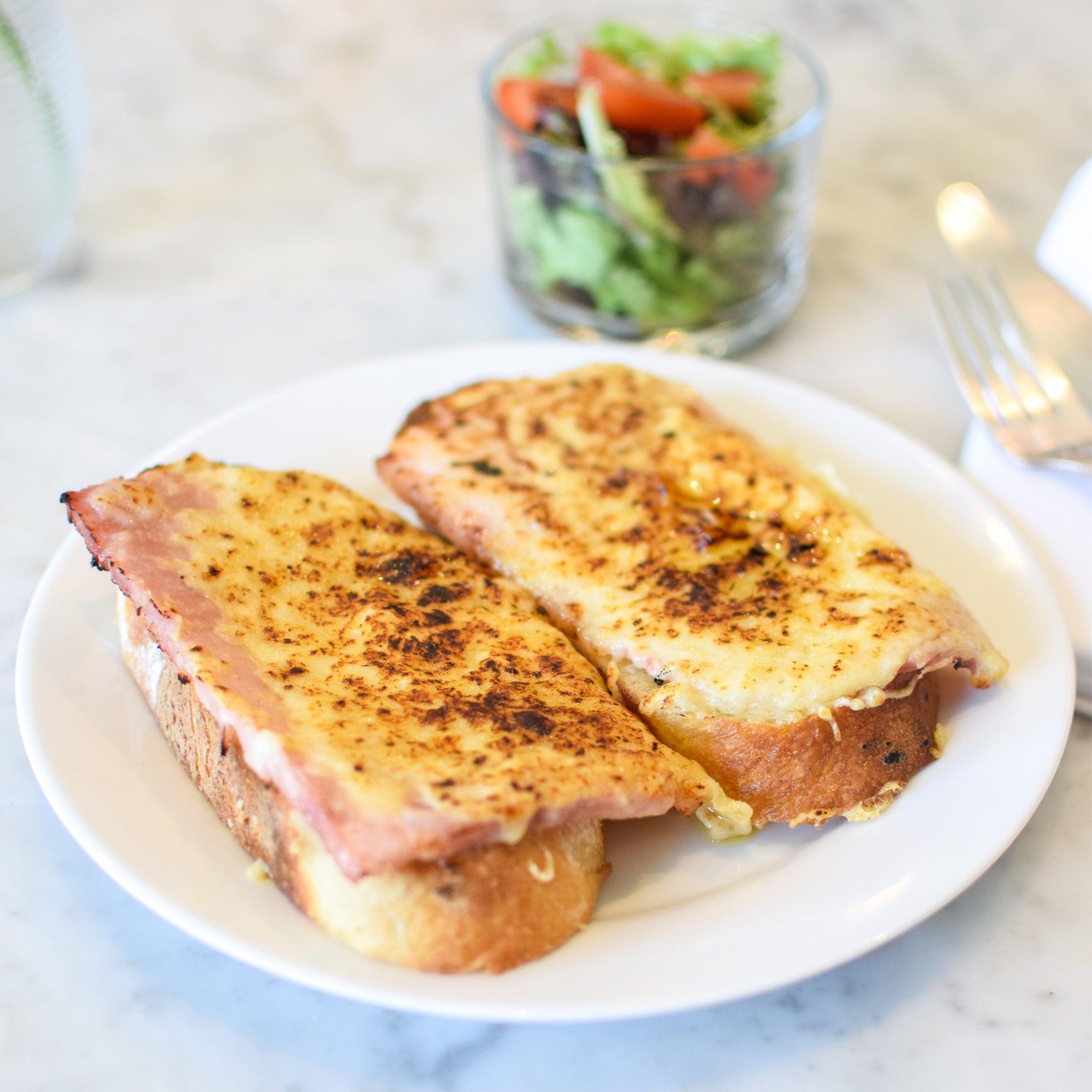 Croque  Monsieur To Go: In-Store/Curbside Pick-up only