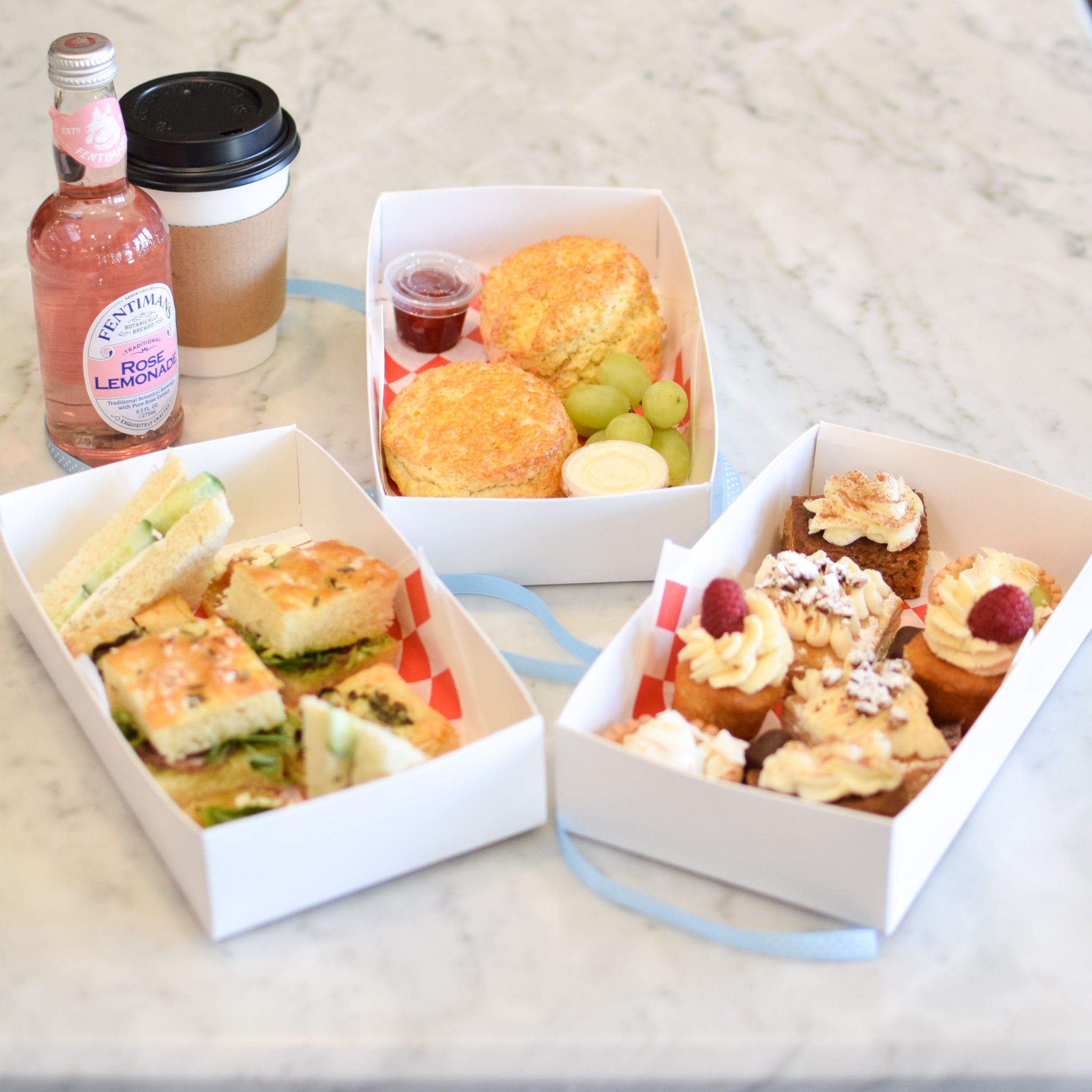 Afternoon Tea to Go! In-store/curbside pick-up only (please allow at least 30 minutes)