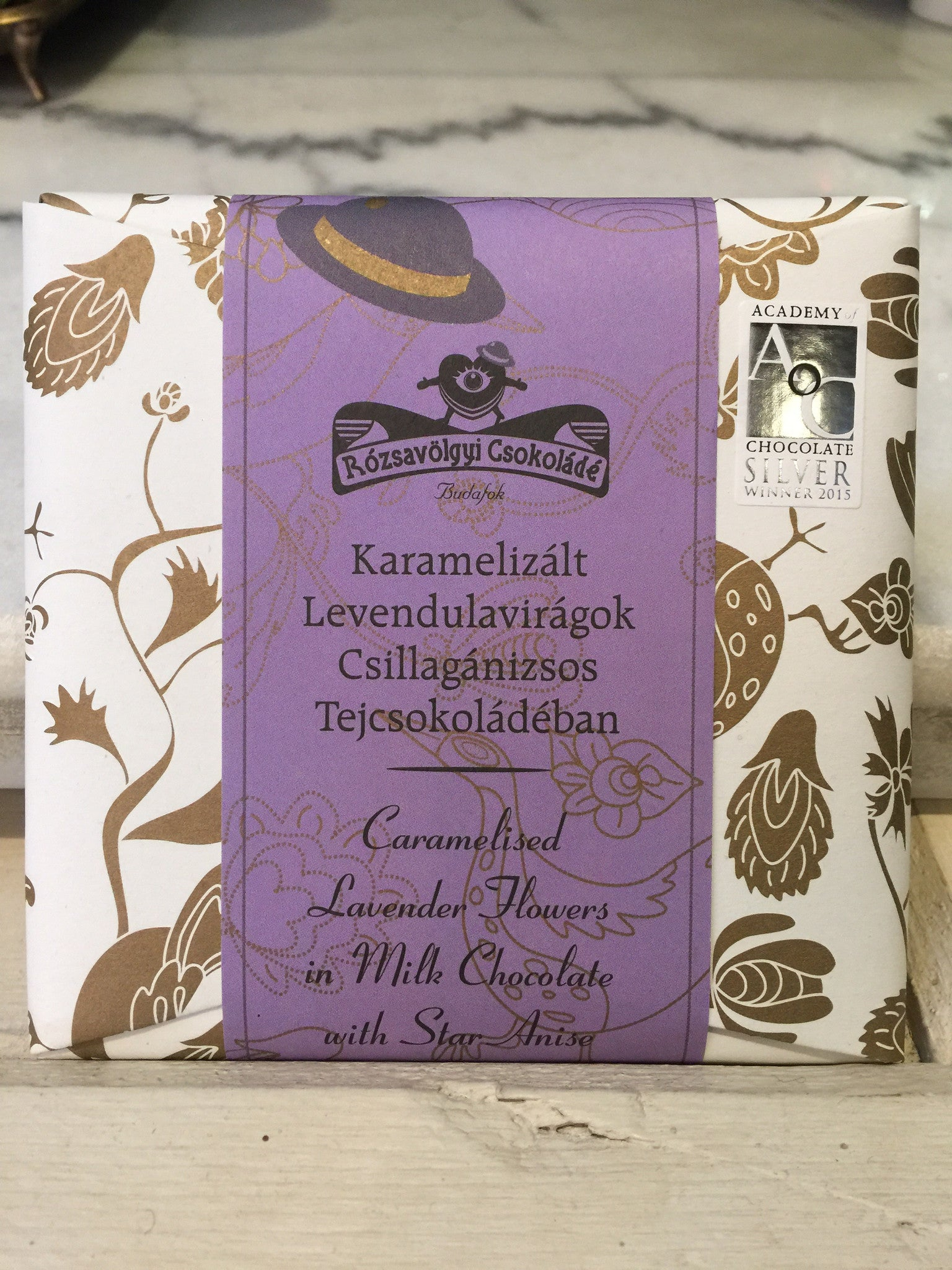 Rózsavölgyi - Caramelized Lavender Flowers Milk