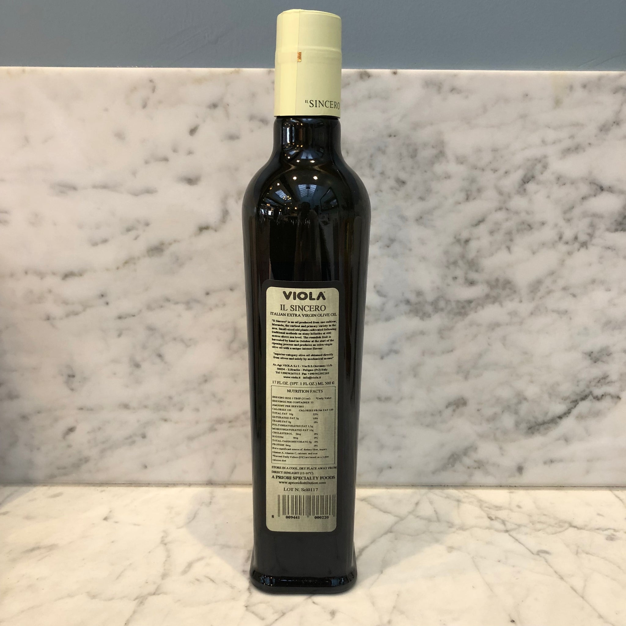 Viola Il Sincero - Extra Virgin Olive Oil