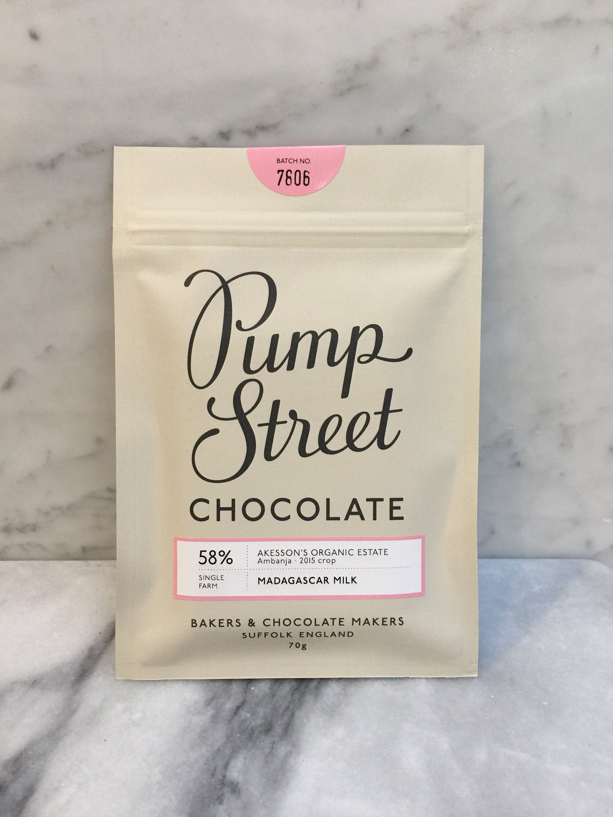 Pump Street - Madagascar Milk 58%