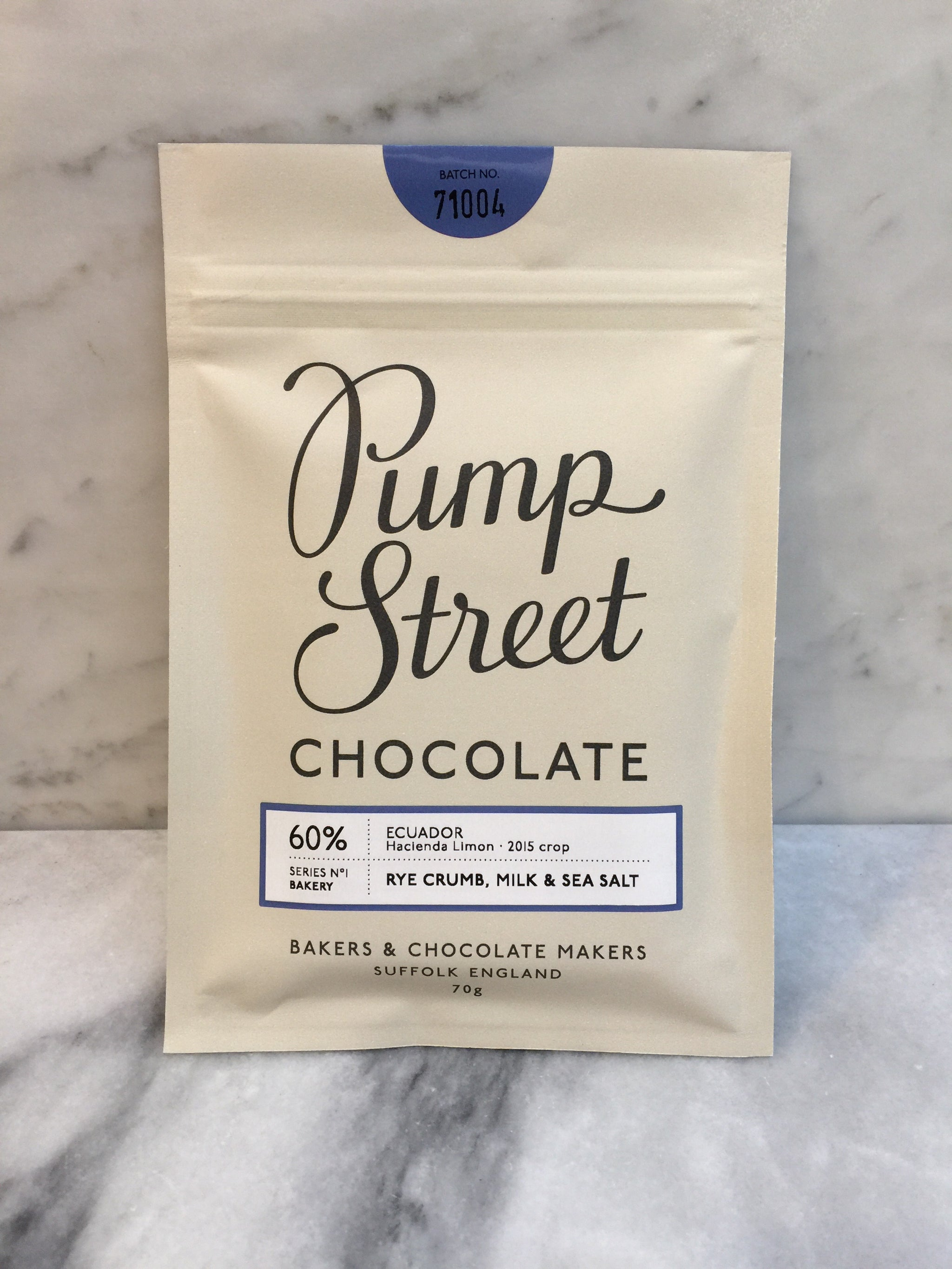 Pump Street - Rye Milk Sea Salt