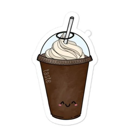 Cute Iced Chocolate Sticker