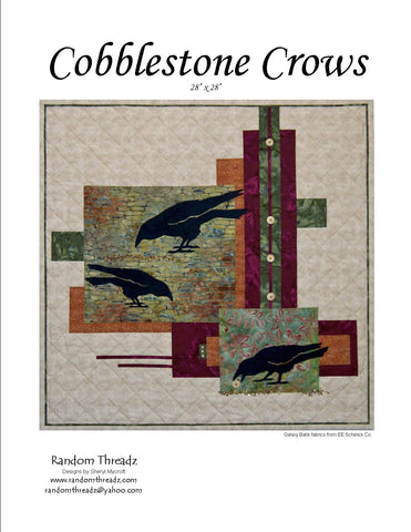 Cobblestone Crows - Quilt Pattern