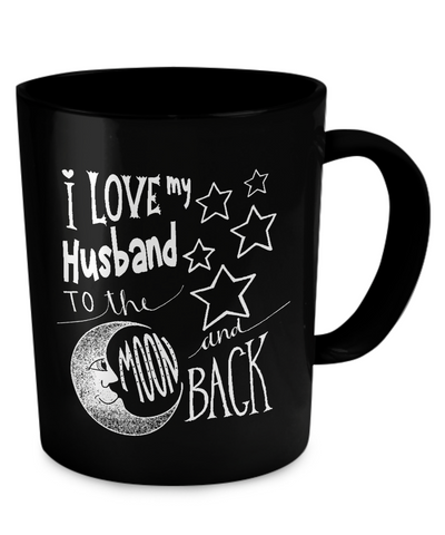 I LoveMy Husband To The Moon And Back - Coffee Mug