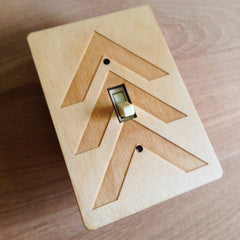 Laser Cut Light Switch Plate