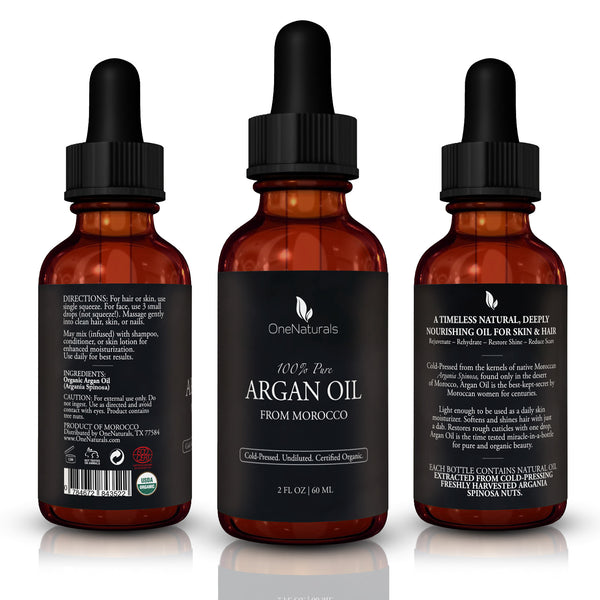 Argan Oil - 100% Pure & Organic