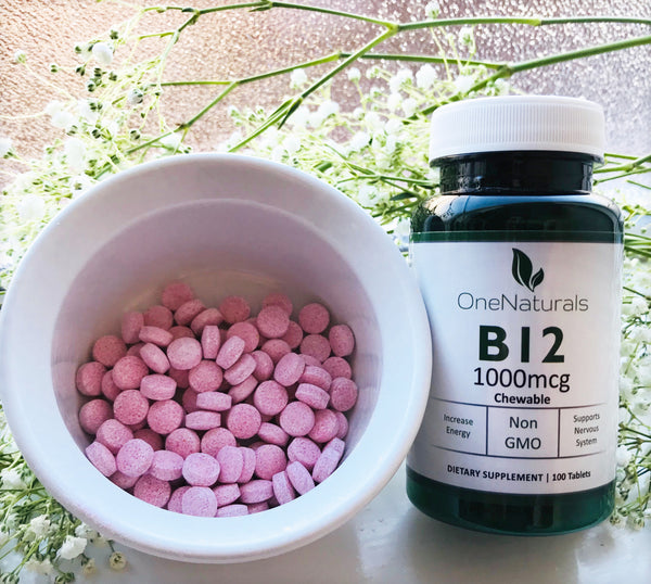 Vitamin B12 Methylcobalamin (1000 mcg)