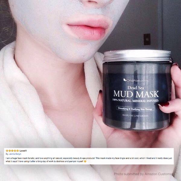 Dead Sea Mud Mask - 100% Natural