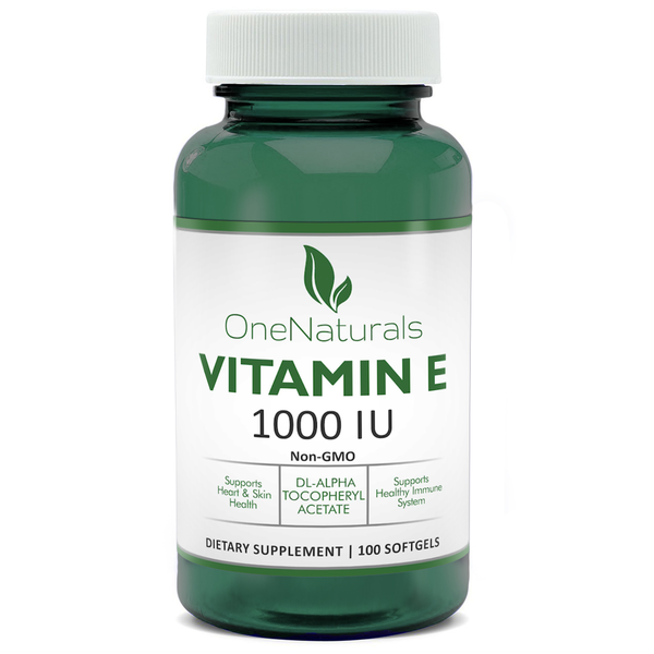 Vitamin E 1000 IU (dl-Alpha tocopheryl acetate)