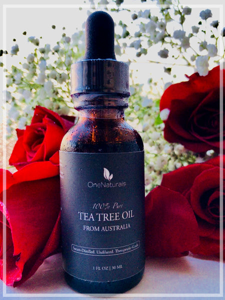 100% Pure, Organic Tea Tree Oil (1 oz)