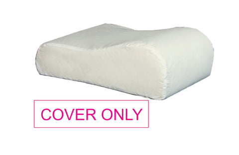 COVER ONLY for  travel Memory Foam Contour Shaped Pillow - A4-C