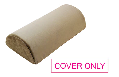 "COVER ONLY for 16"" Memory Foam Bolster Half Roll Pillow - A53-C"