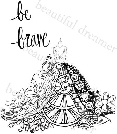 Lotus Be Bold 8.5 x 11 Instant Download Coloring Page ...