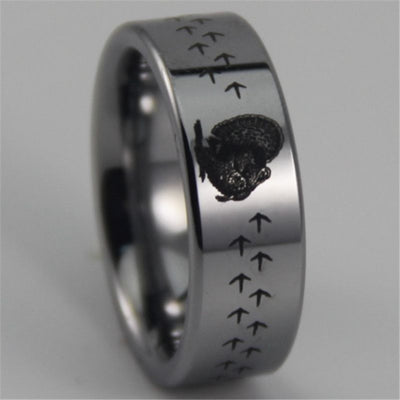 Tungsten Carbide Turkey Ring