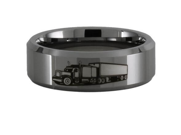 Big Rig Tungsten Ring