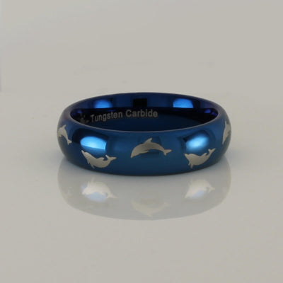 Tungsten Carbide Dolphin Ring