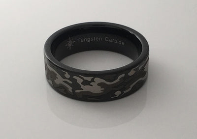Tungsten Camouflage Ring (2 Styles)