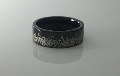Tungsten Cornfield Ring