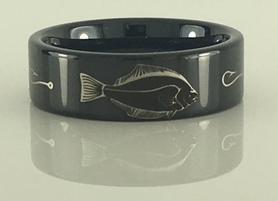 Flounder Redfish Speckled Trout Tungsten Ring