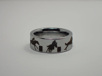 Tungsten Barrel Racing Ring