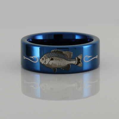 Tungsten Redbreast Sunfish Ring