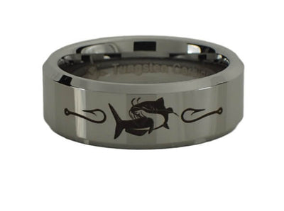 Tungsten Carbide Catfish Ring