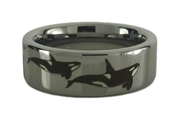 Tungsten Carbide Orca Ring
