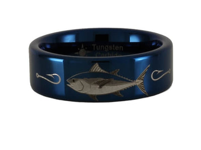 Tungsten Carbide Tuna Ring