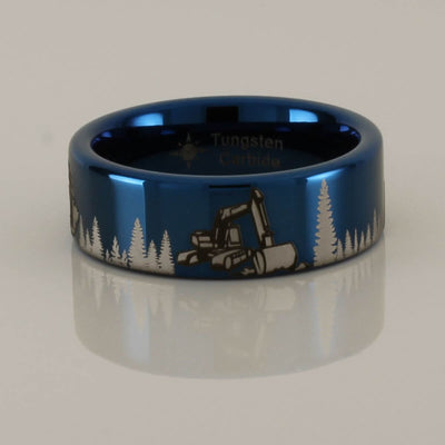 Excavator Chainsaw Bulldozer Tungsten Ring