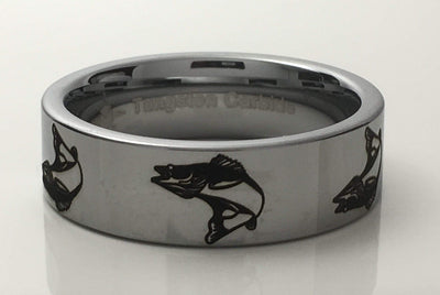 Tungsten Carbide Walleye Ring